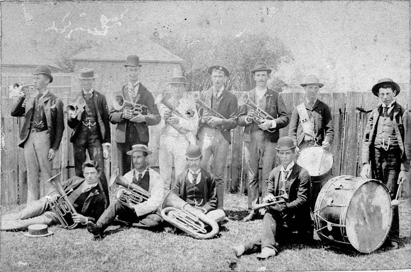 Port Band c1895