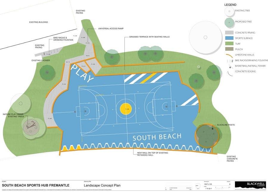 Court Concept Plan