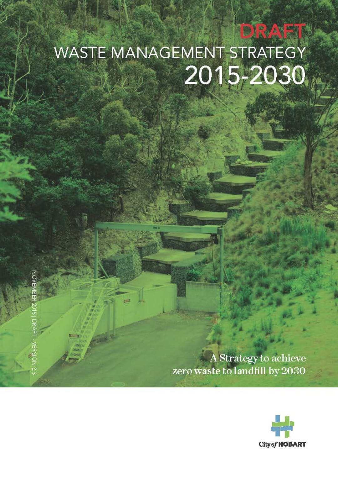 Waste management strategy 2015 2030   cover