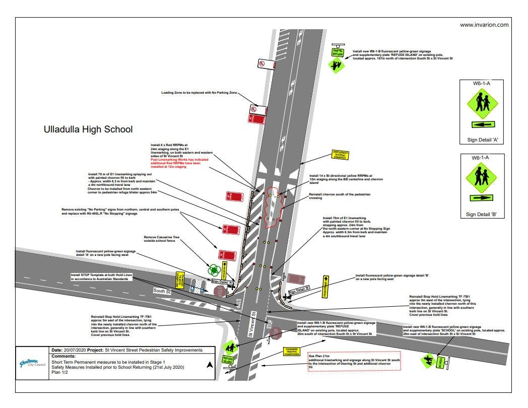 St Vincent St Safety Improvements Installed Plan 1.JPG