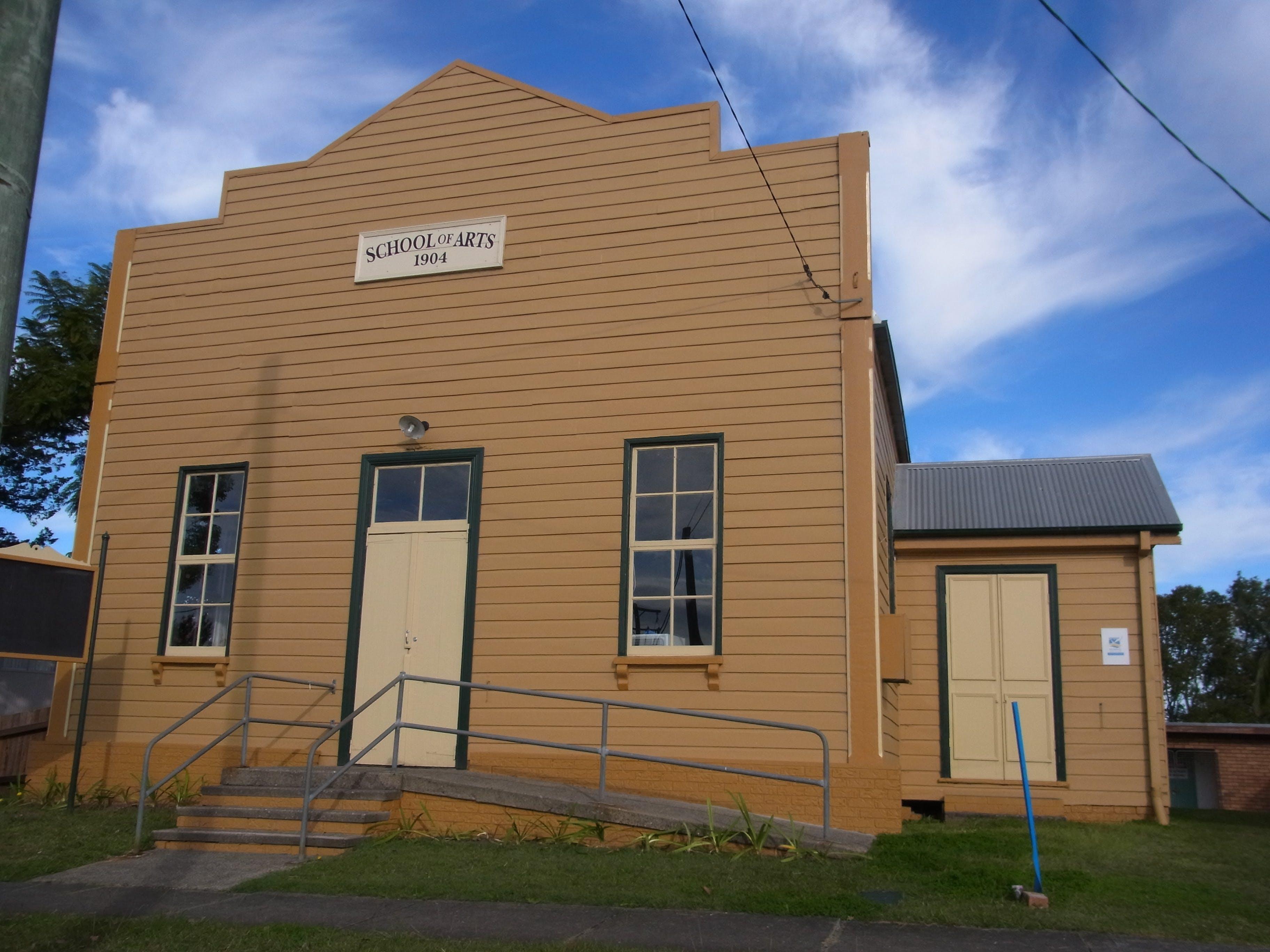 Frederickton School of Arts Hall