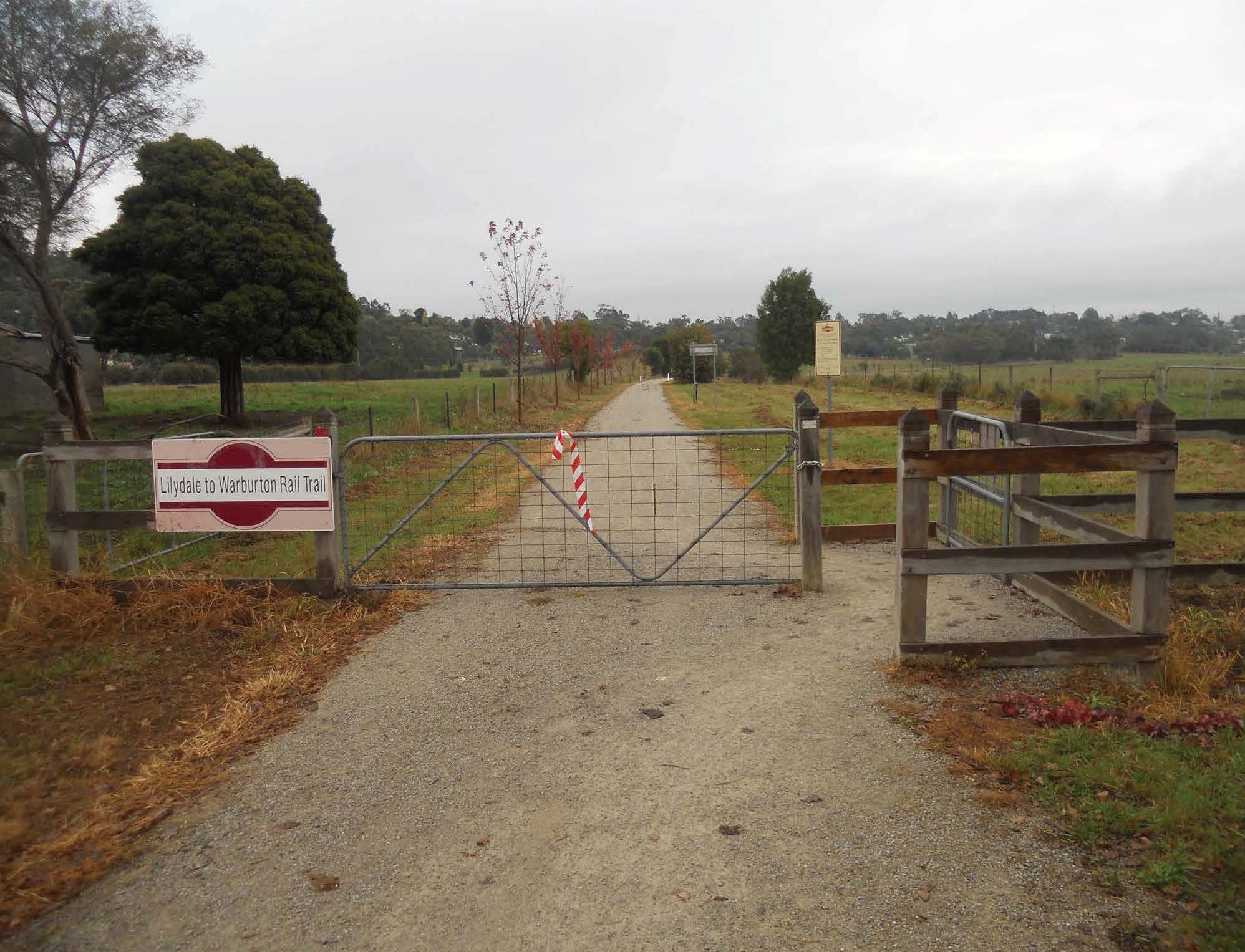 4. Lilydale Warburton Rt Chicane And Gate
