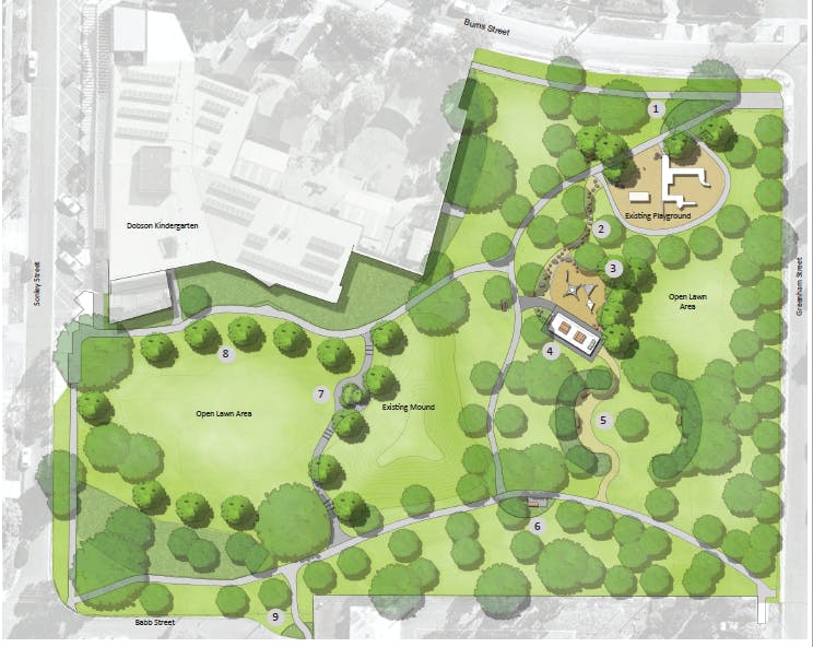 Rogers Reserve Concept Plan