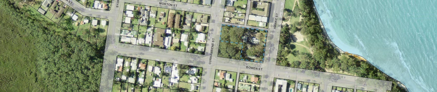 Planning Proposal (Rezoning) Application - Cnnnnnnnnnnnnnnnnnnnr Hawke, Bowen & Currambene Streets Huskisson