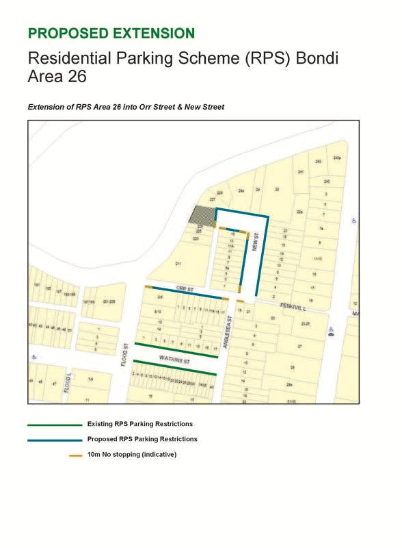 Map of proposed RPS Area 26 extension