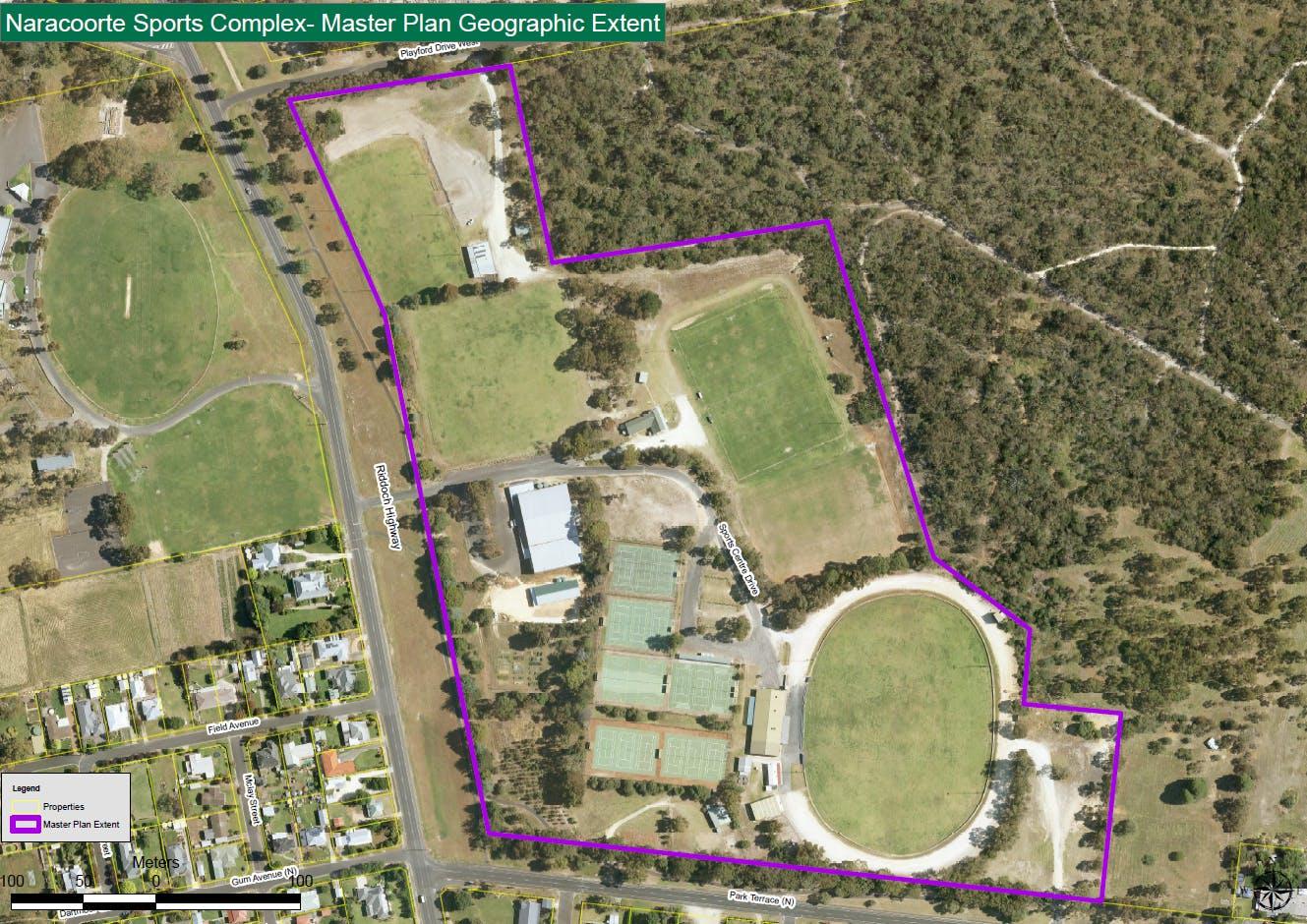 Sports centre master plan 2