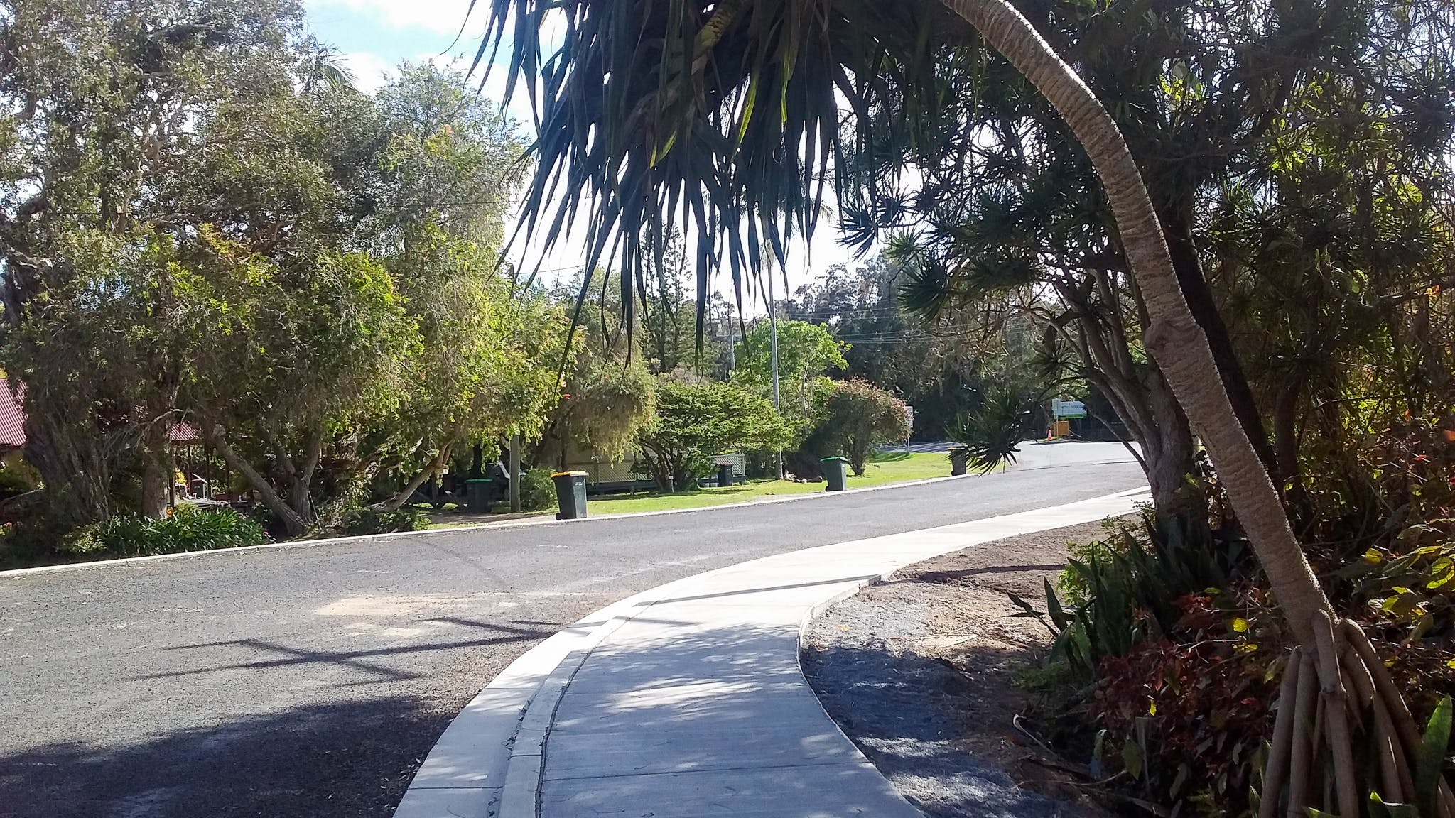 Winding pathway Sept 11