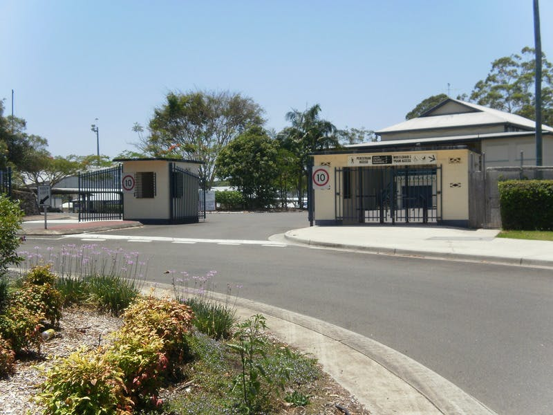 Entry to Nambour Showgrounds