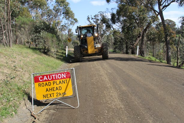 Road management plan project image tile
