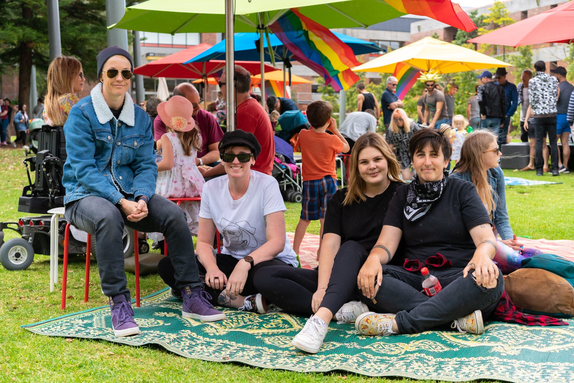 Pride in the Park - Know Your Community event