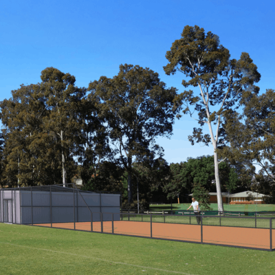 Wadsworth 3D image-crushed rock bullpen