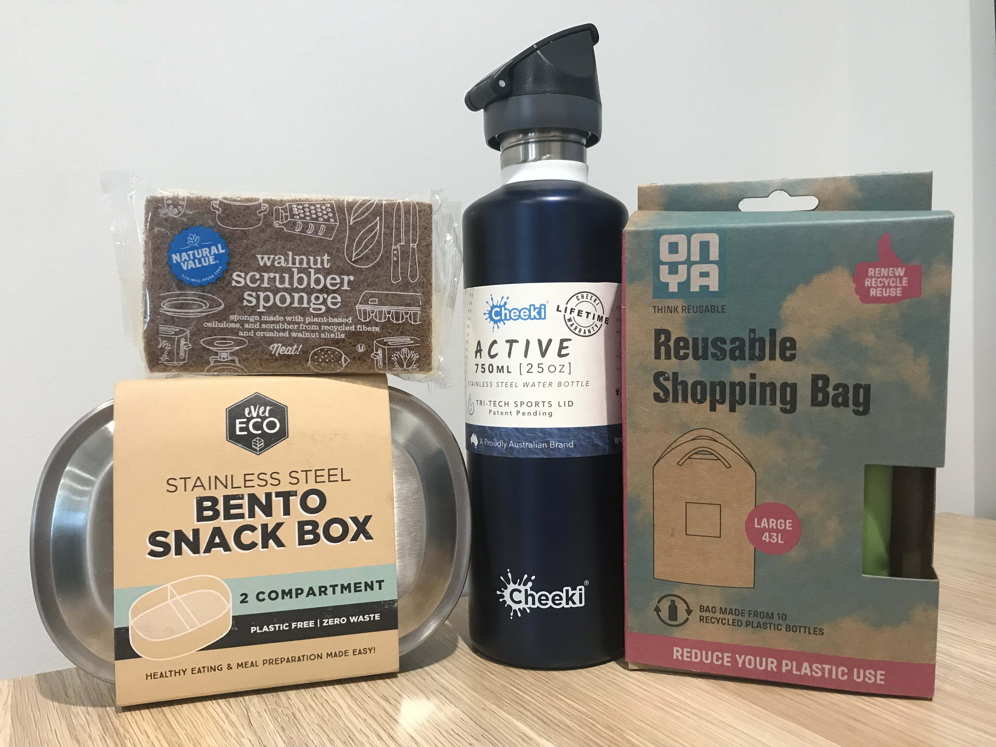 Sustainable living events survey prize pack
