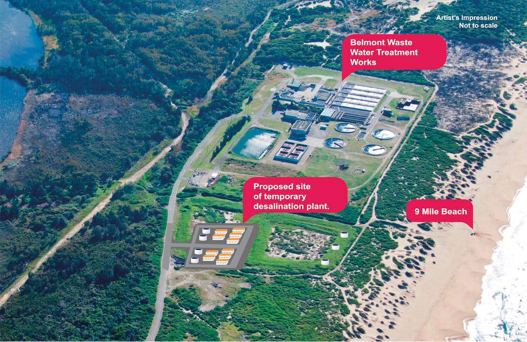 Belmont Temporary Desalination Plant | Your Voice Hunter Water