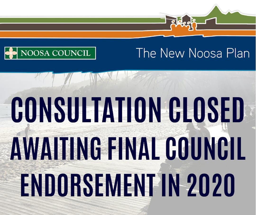 The New Noosa Plan - Consultation closed