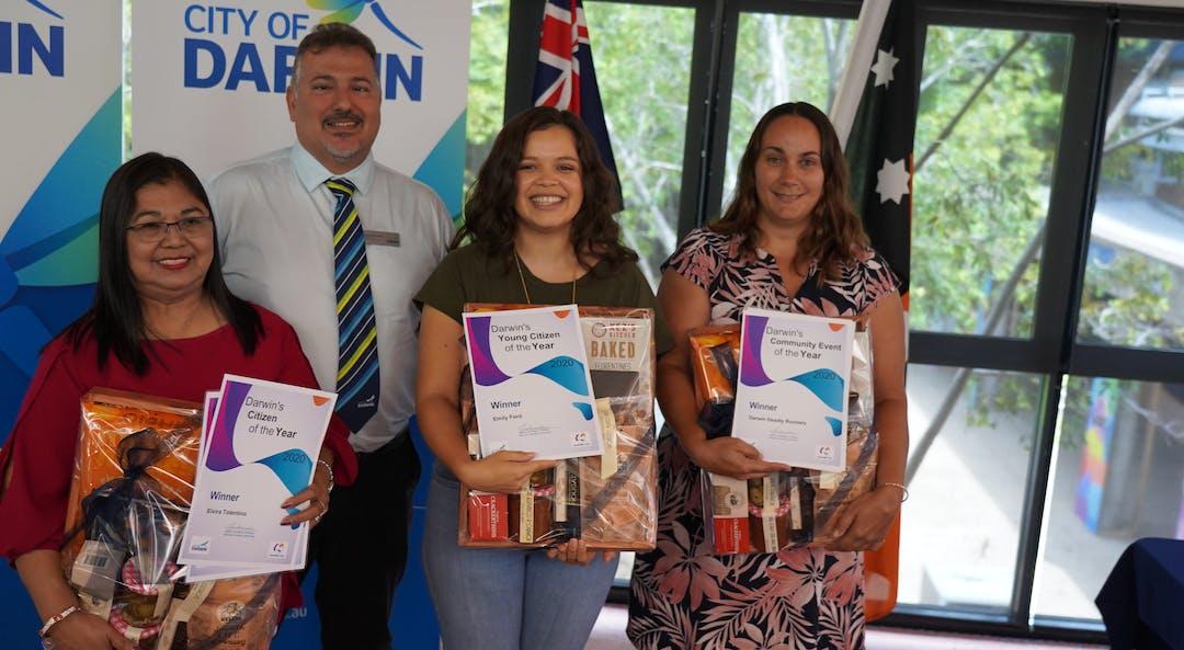Winners of the Australia Day Awards 2020