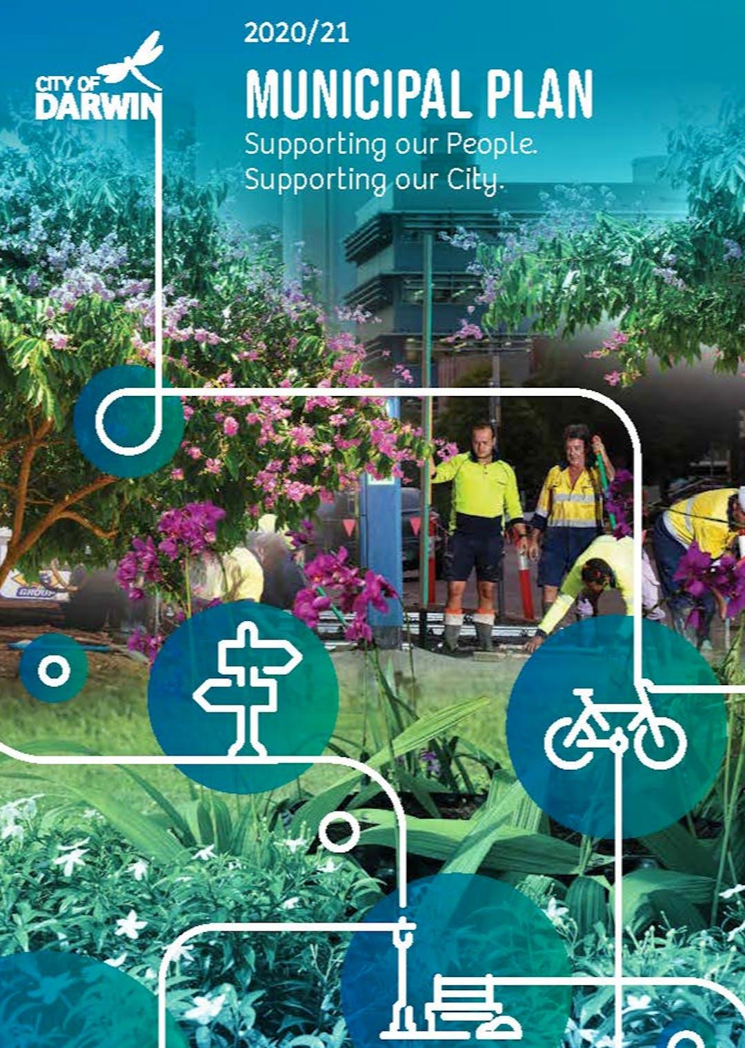 2020/21 Draft Municipal Plan front cover