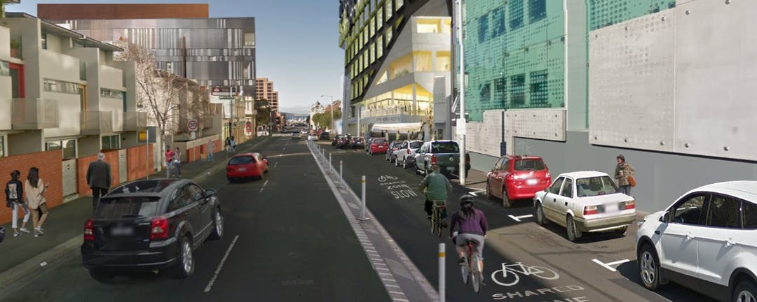 Argyle Street and Campbell Street Trial Bicycle Lanes
