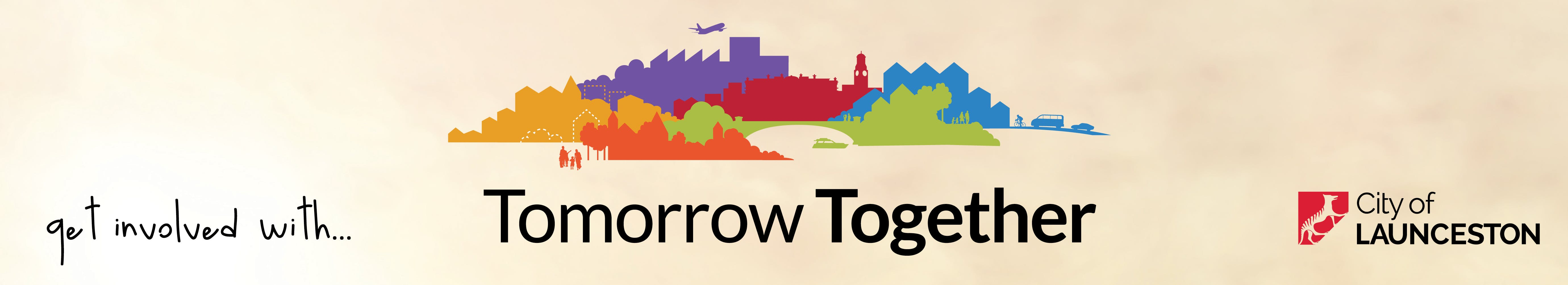 Tomorrow Together Web Page Banner