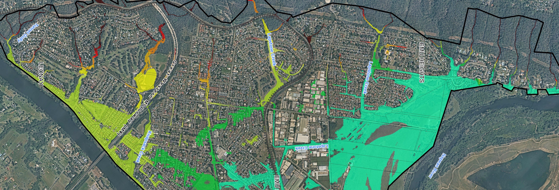 Emu Plains Flood Study Map