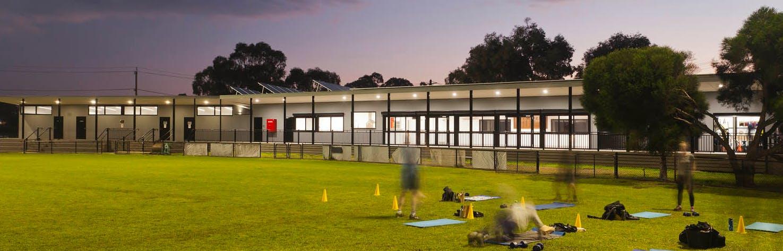Pavilion at Jack Grut Reserve