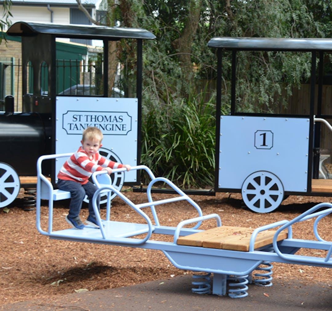 St Thomas Rest Park Playground Refurbishment