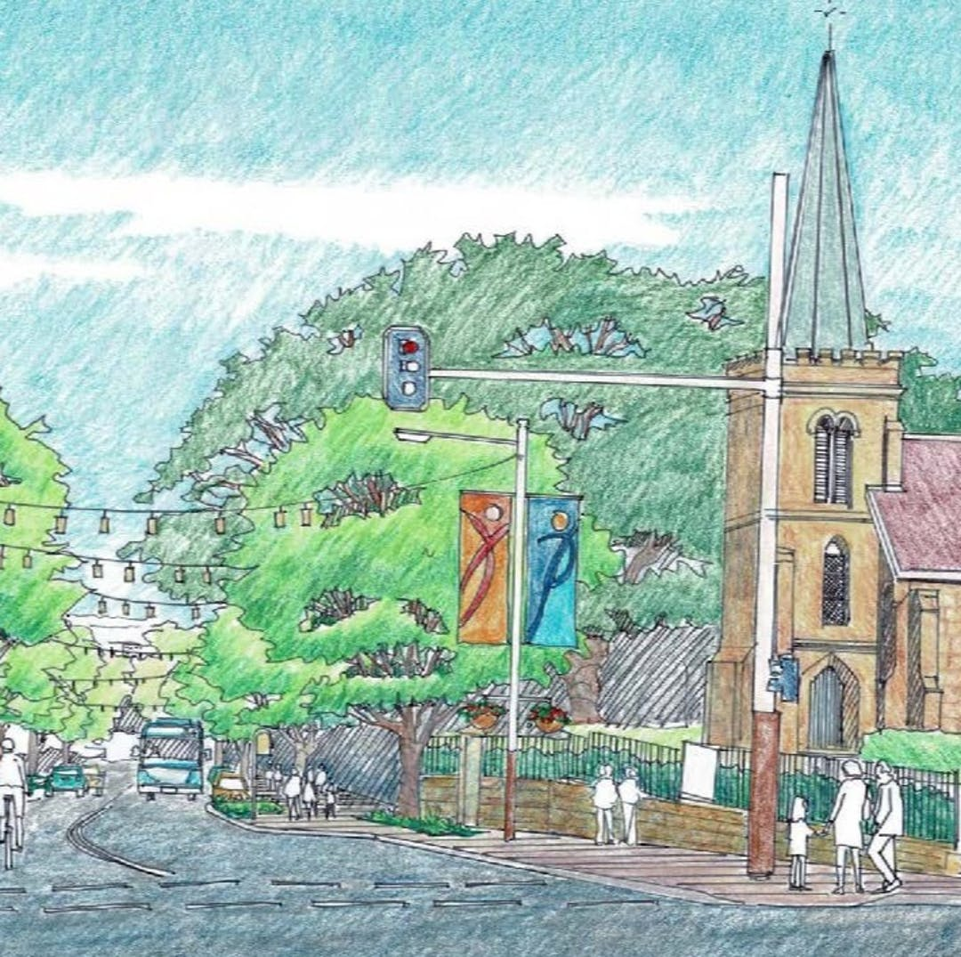 Blues Point Road Village Centre (McMahons Point), Draft Public Domain Upgrade Masterplan