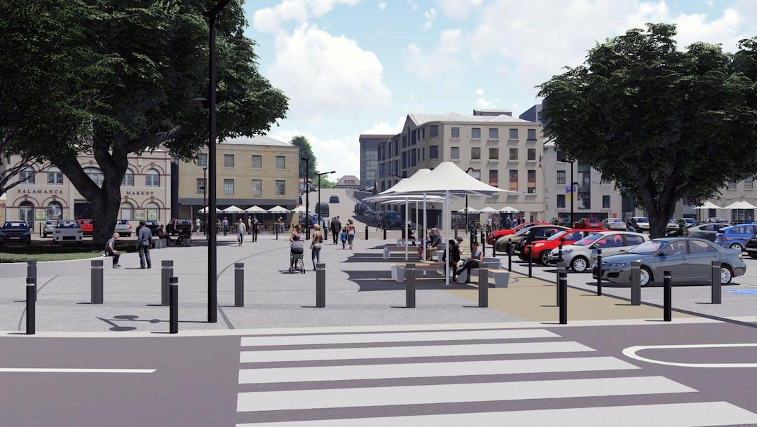 Salamanca Pedestrian Improvements