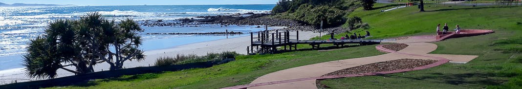 Arrawarra Headland Reserve is a culturally significant site. It is part of the Coffs Coast Regional Park.