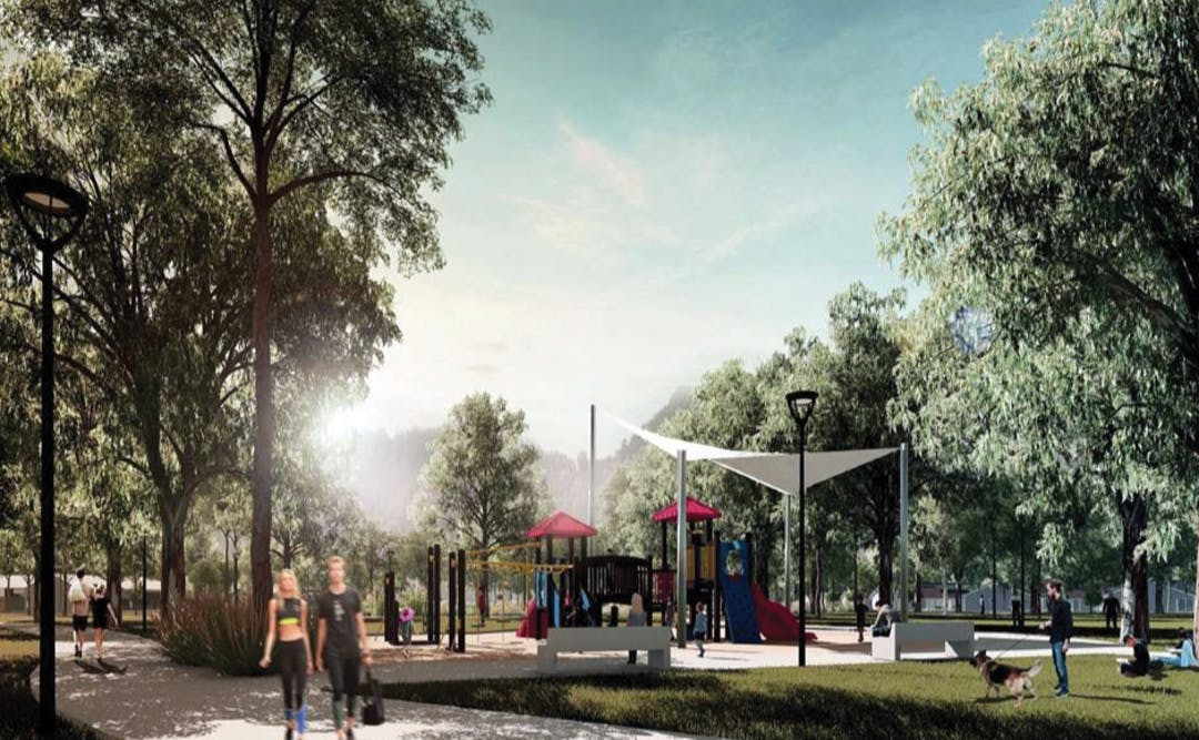 Cambridge Reserve Revised Concept Plan