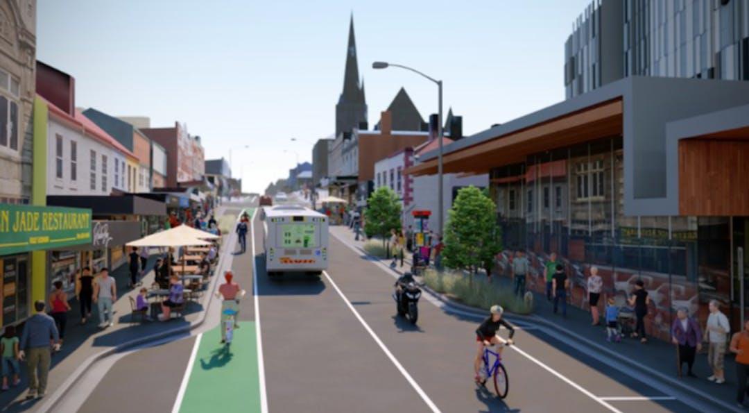 Elizabeth Street (Midtown) Streetscape Project