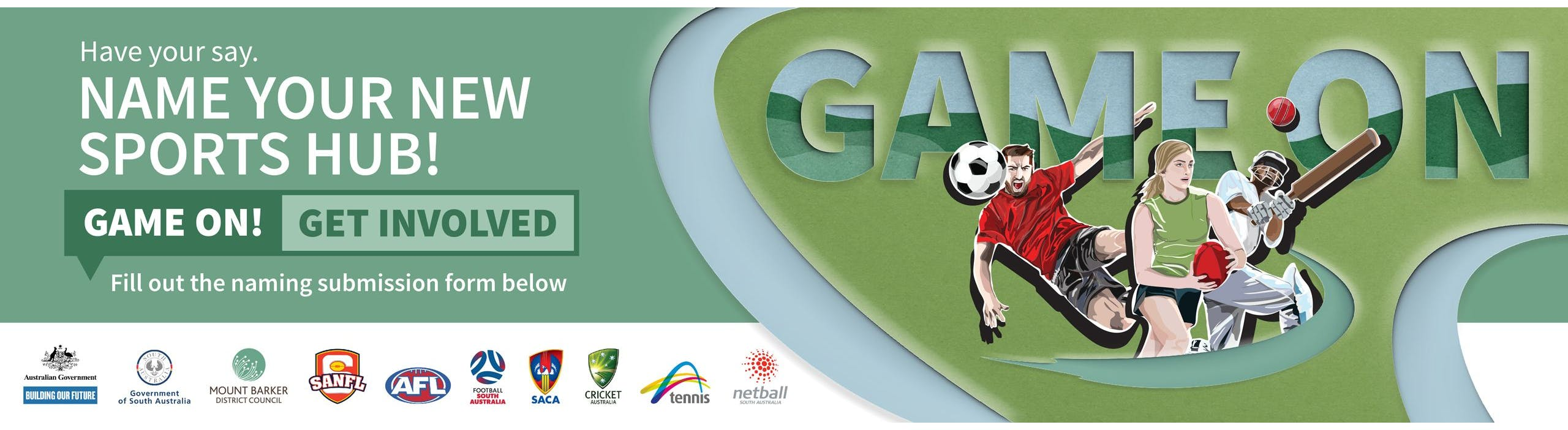 Game on! Name your new regional sports hub