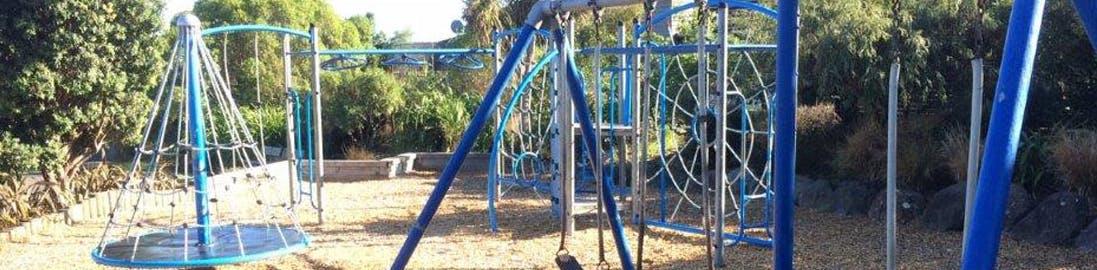 Kotuku Park playground - Currently.