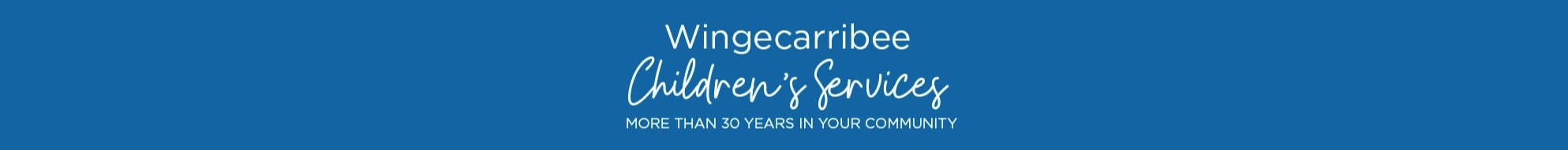 Banner for Wingecarribee Shire Council's Children's Service