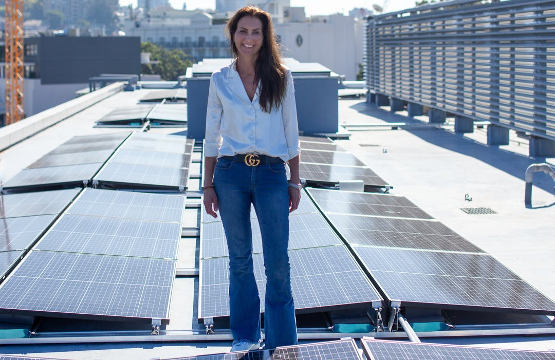 Installing solar panels is one way to reduce carbon emissions