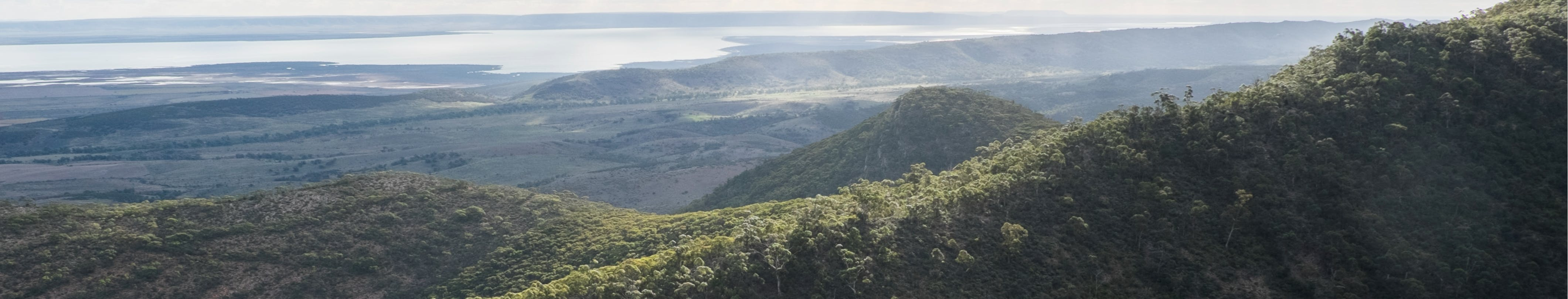 Panoramic view from Mount Remarkable