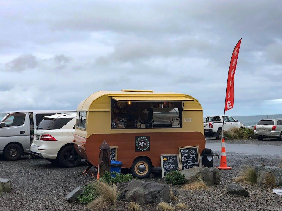 Coffee cart ar Red Rocks