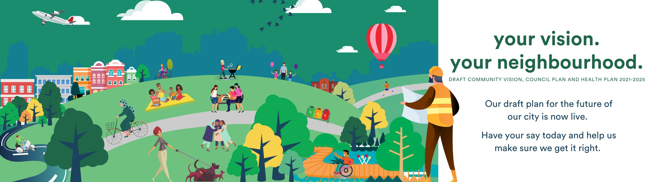 Draft Community Vision, Council Plan and Health Plan 2021-25 - Moonee Valley City Council