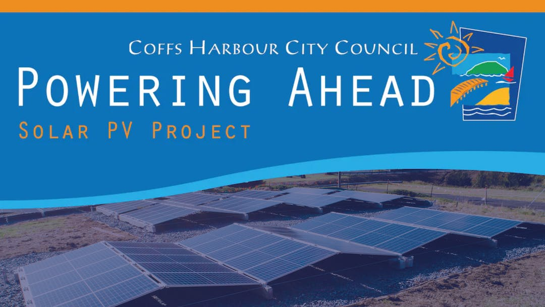 POWERING AHEAD - Coffs Harbour City Council's Solar PV Project, wil begin installation on 30 September and is expected to complete mid-2020. It encompasses 16 Council owned sites in Coffs Harbour LGA which are being transitioned to Solar Power to reduce Council's  per annum corporate emissions (tonnes CO2-e) from 2010 levels by 50% by 2025.