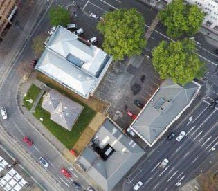 Aerial View - Civic Square