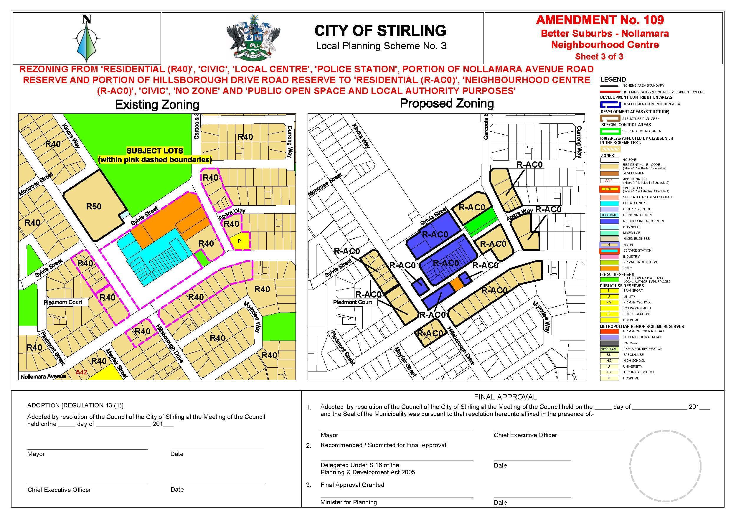 Nollamara Shopping Centre Map