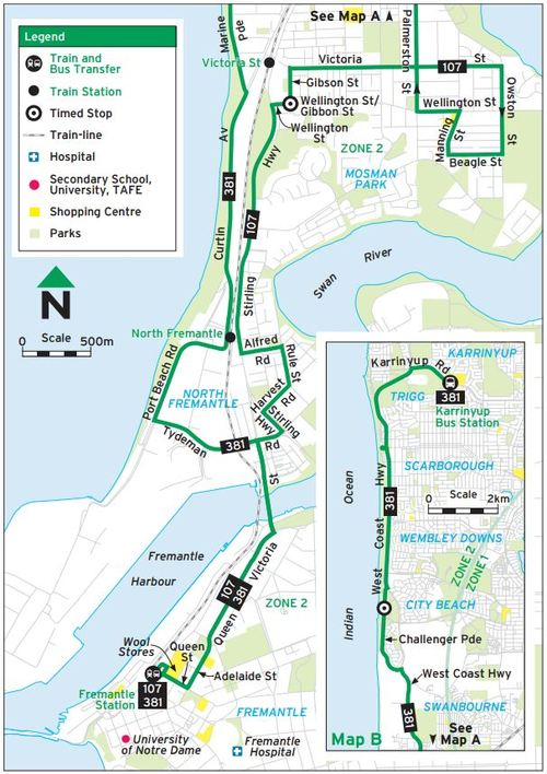 107 Bus Service in North Fremantle My Say Freo
