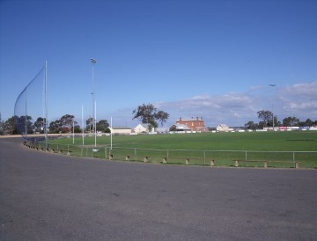An image of a sporting ground in Bairnsdale