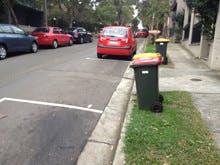Driveway line marking