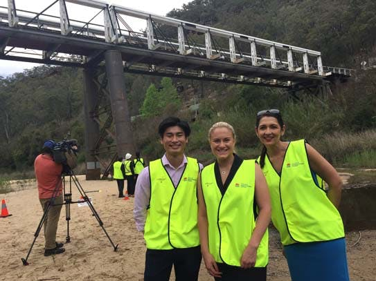 Bridge inspections are flying high