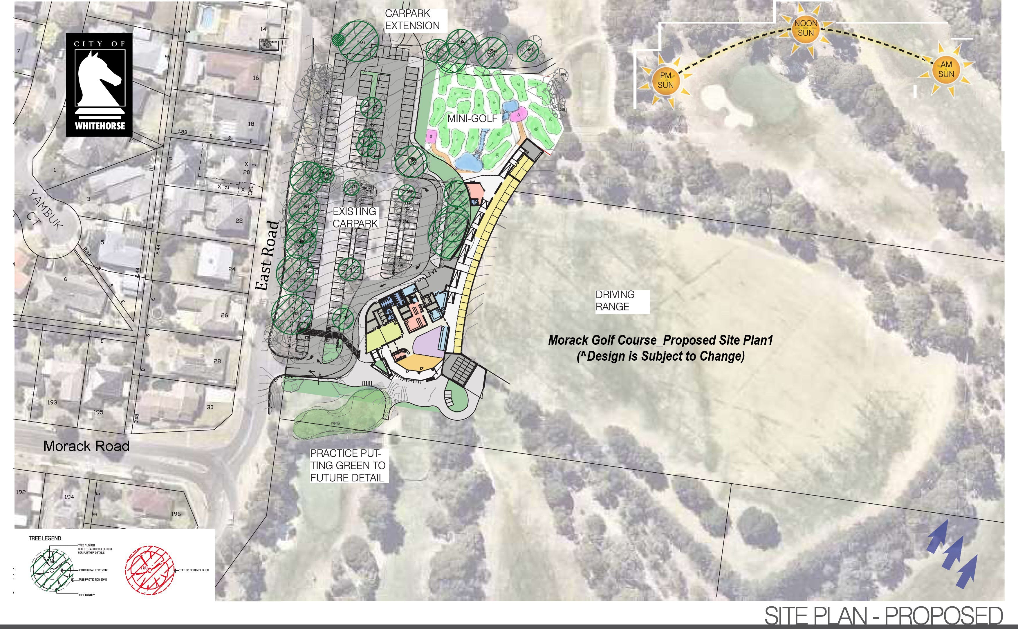 Morack Golf Course Redevelopment proposed site plan 1
