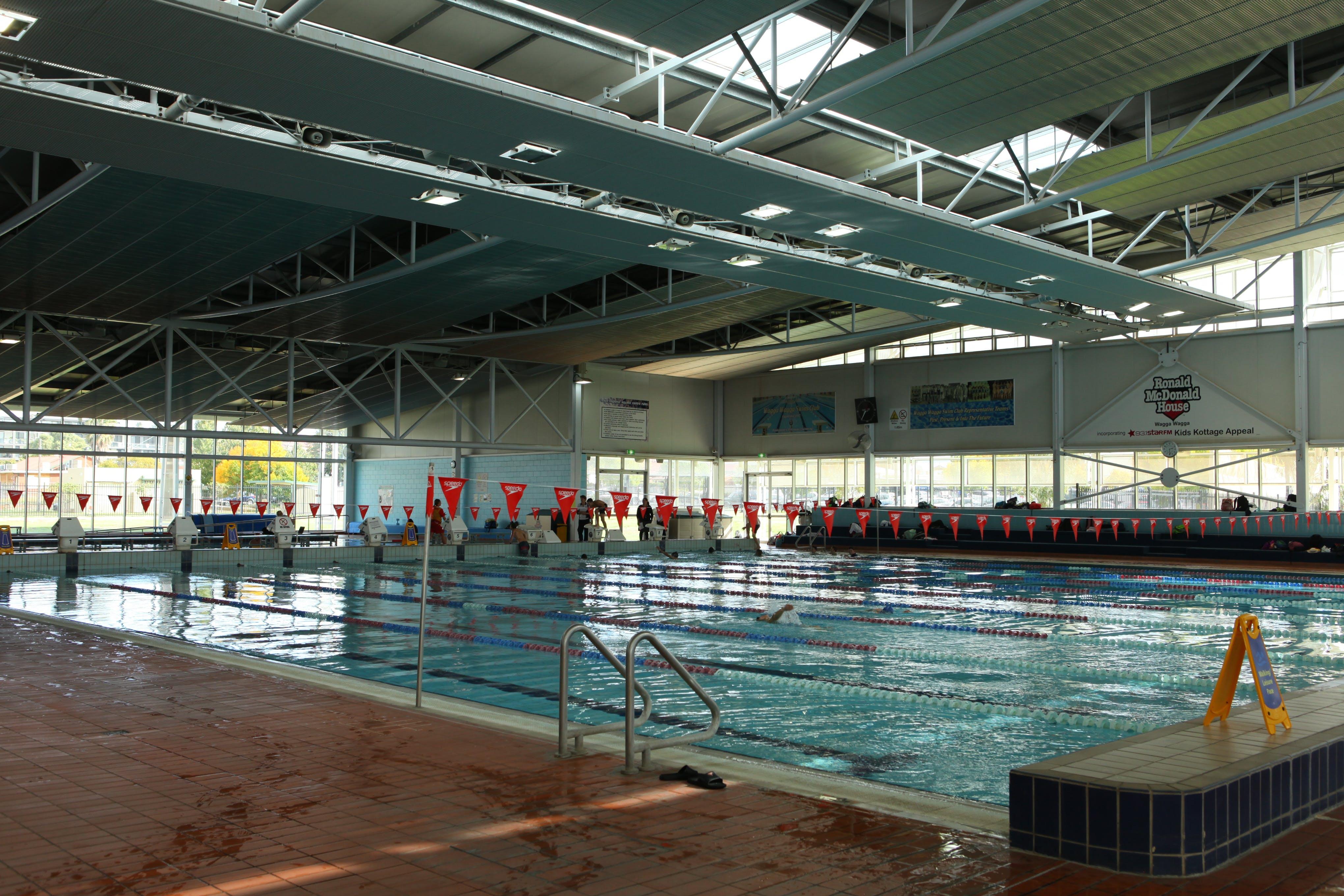 Oasis Aquatic Centre Indoor Lap Pool