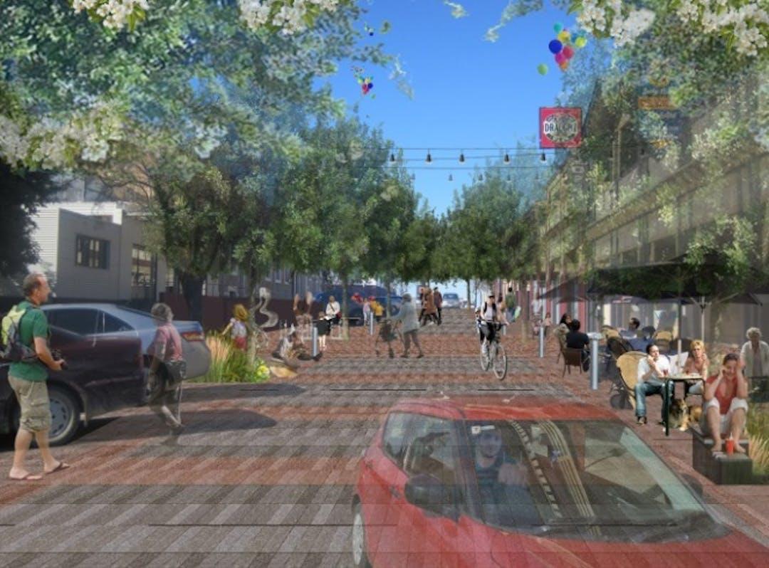 Sixth Street Revitalisation Project