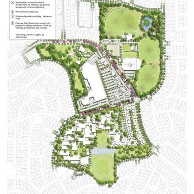 First Stages -  Willetton Precinct Master Plan