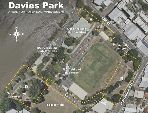 Davies Park improvement project