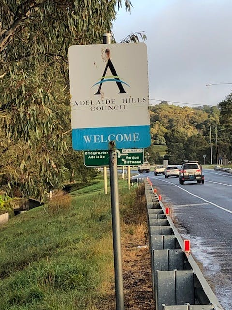 Welcome to the Adelaide Hills Council